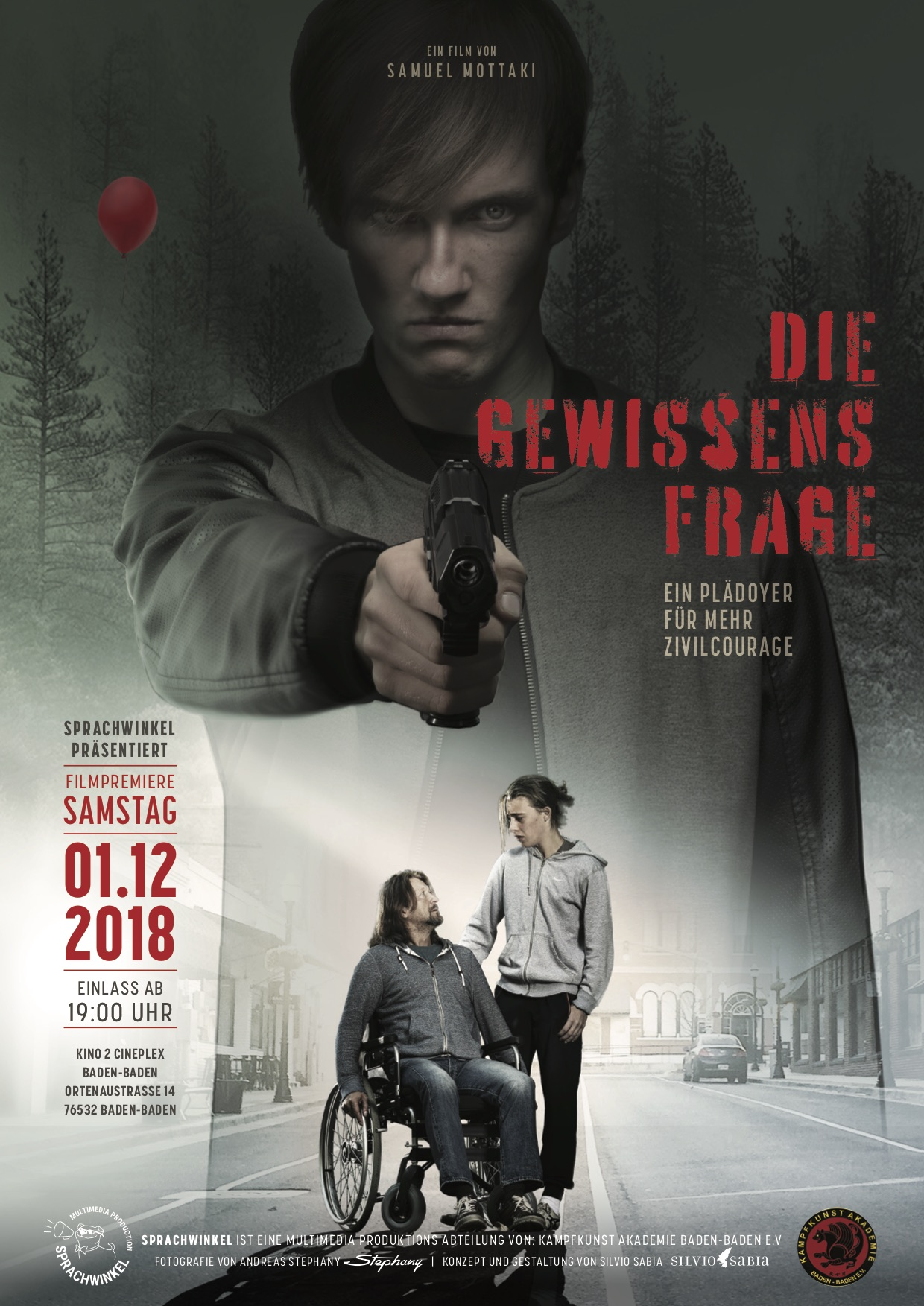 """Filmpremiere Spielfilm """"Die Gewissensfrage"""""""
