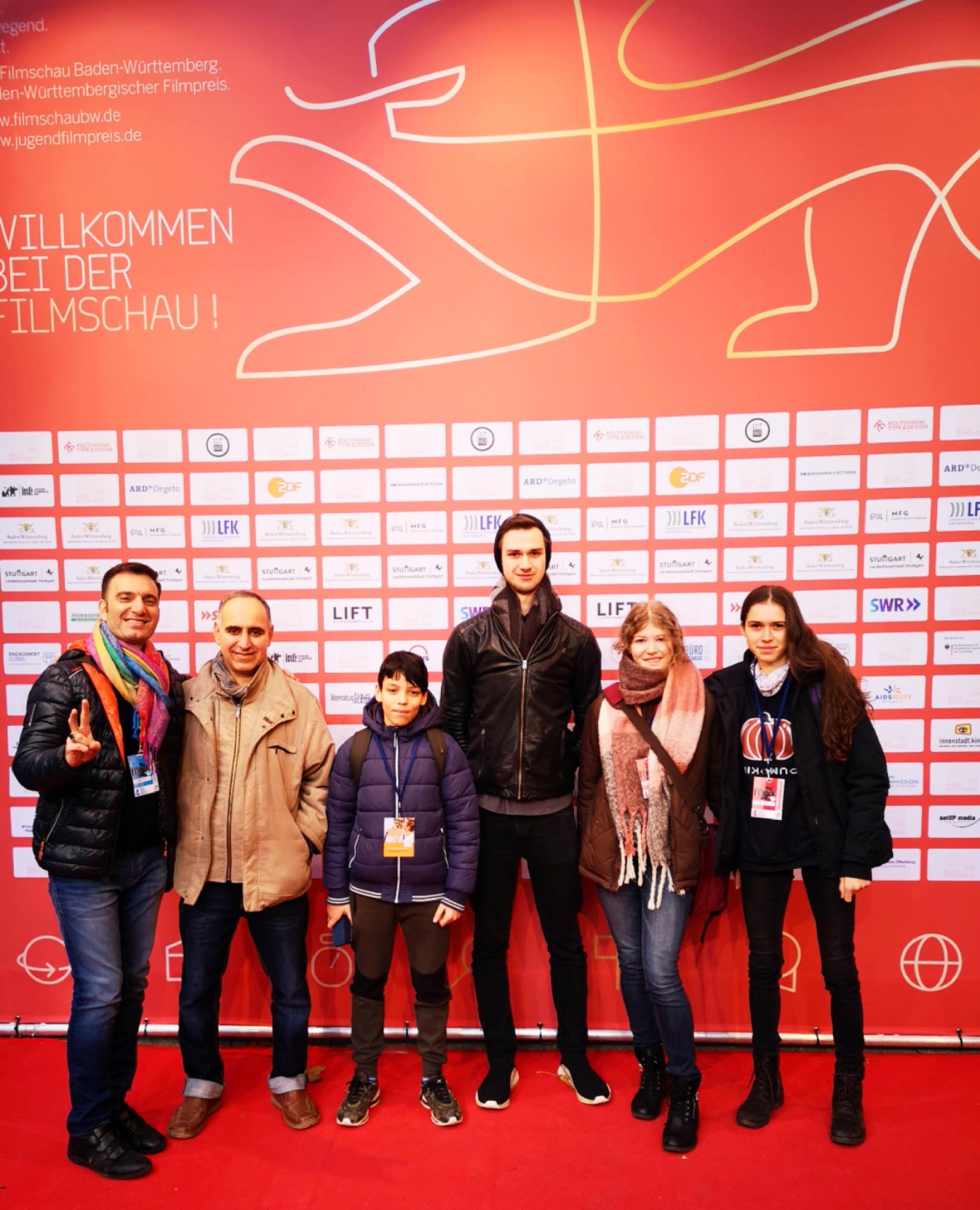 AUSLEGER auf Filmfestival